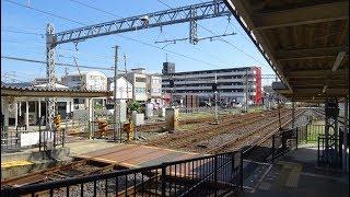 近鉄江戸橋駅の構内踏切 thumbnail