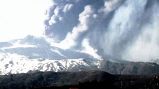 Mt. Etna eruption 4-12-2012