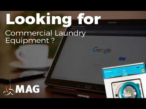 Looking For Commercial Laundry Equipment