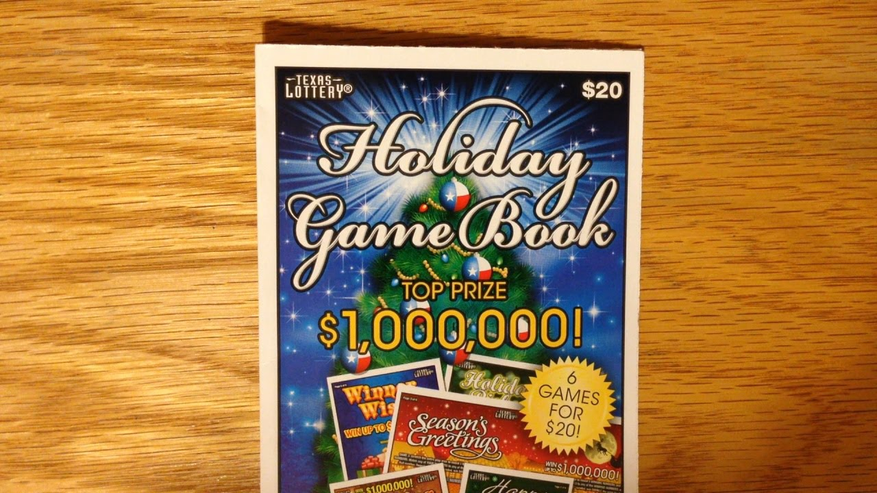 Win Holiday Game Book TX Lottery Scratch Off YouTube