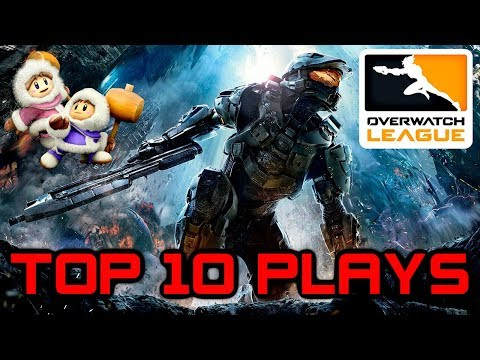 Top 10 Gaming Plays #2 - GTA 5, Overwatch League, SSBM Endless Combo, Battlefield Bow Rendezook