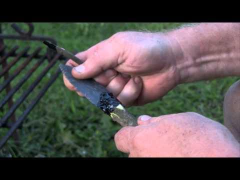 3Rivers Archery Hafting Pine Resin Tutorial