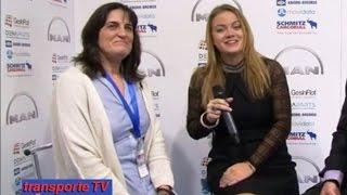 Entrevista a Sonia García por Javier Baranda en el XVI Congreso de Transporte CETM