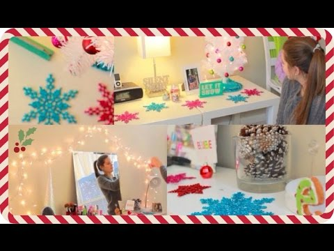 Decorate My Room For Christmas With Me Emmerrylittlechristmas
