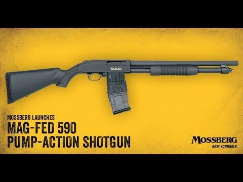 New for 2018: Mossberg 590M Mag-Fed Shotgun