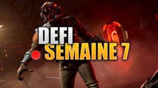 DEFI SEMAINE 7 FORTNITE BATTLE ROYALE CARTE AU TRÉSOR PLEASANT PARK