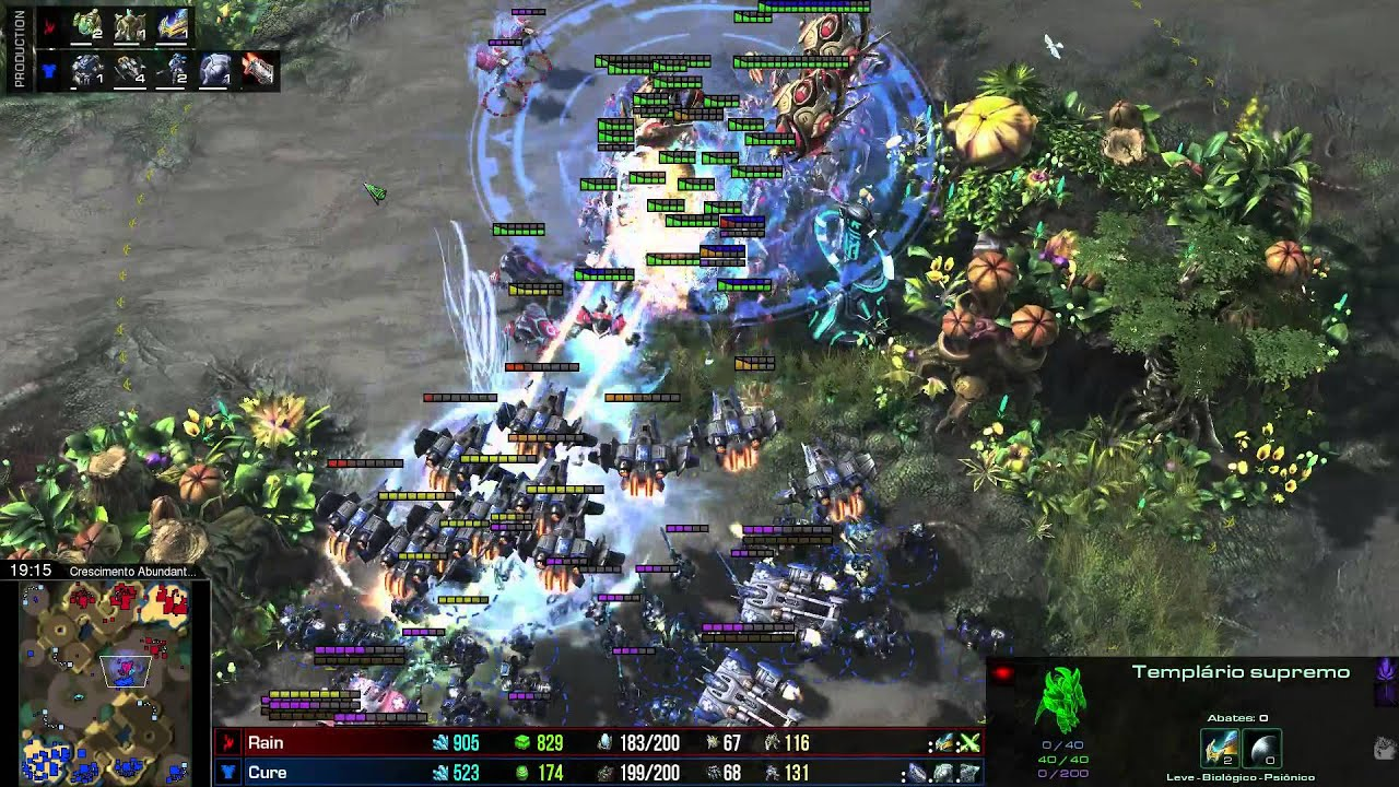 how to make amap in sc2