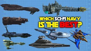 8 Best Science Fiction Navies Ranked
