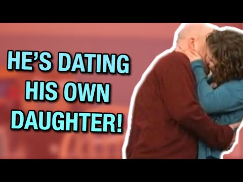 girl dating her dad