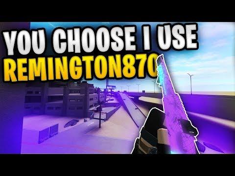 Phantom Forces - You Choose I Use (Remington870)   Most Triggering Setup!