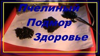 Пчелиный подмор рецепты