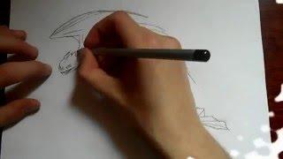 Видео: как нарисовать дракона?(обучающее видео по рисованию дракона простым карандашом поэтапно для начинающих., 2016-01-04T07:59:37.000Z)