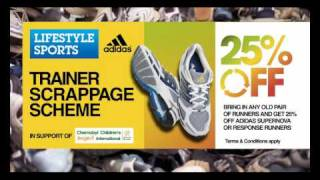 Lifestyle Sports - Brian O'Driscoll Trainer Scrappage Scheme Ad