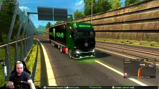 Euro Truck Simulator 2 - Monster Trans Paint - Link w opisie do pełnego filmu