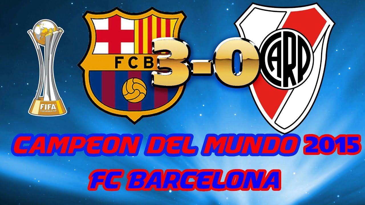 Mundial De Clubes: FC BARCELONA CAMPEÓN DEL MUNDO