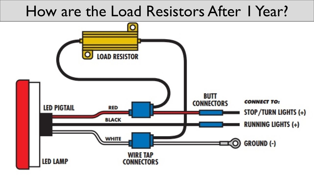 how is having load resistors on your led switchbacks after 1 year rh youtube com Turn Signal Schematic Diagram Universal Turn Signal Wiring Diagram