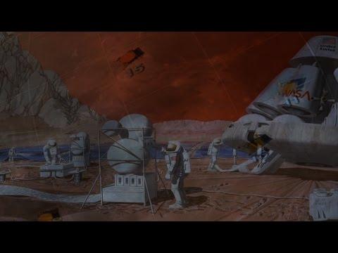 Marte viaje tripulado en dos décadas  SISTEMA SOLAR