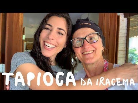 How to Make Brazilian Tapioca Crepes with Iracema  Speaking Brazilian