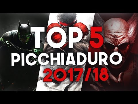 TOP 5 PICCHIADURO DEL 2017/2018