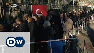 أتراك برلين يصوتون على التعديلات الدستورية في تركيا   الأخبار