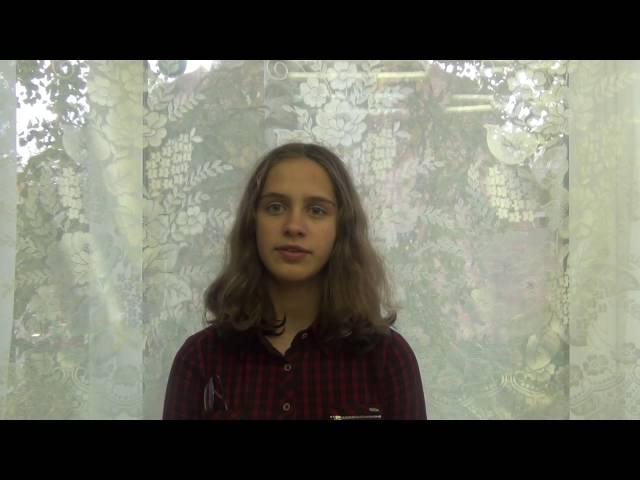 «Ученики 8а» читает произведение «Песня о Гайавате» (Бунин Иван Алексеевич)