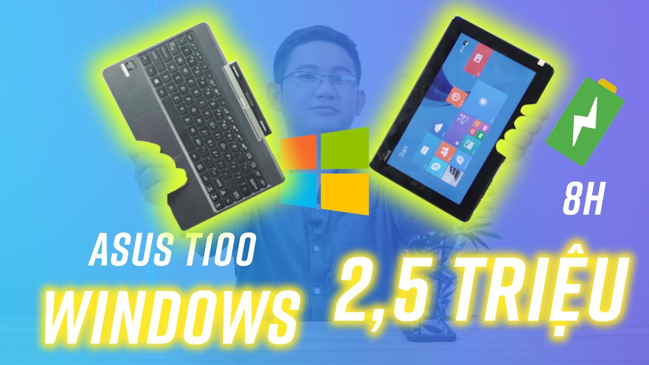 Đánh giá Asus T100: tablet chạy Windows giá 2,5 triệu có gì ngon?