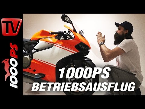 1000PS Betriebsausflug - Ducati Museum in Bologna
