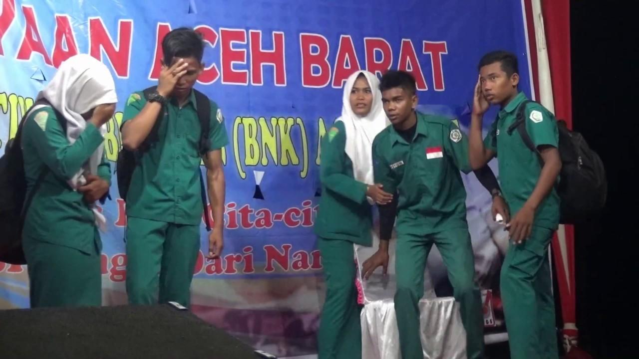 Drama Bahaya Narkoba Oleh Siswa Smk Pertanian Arongan Lambalek Youtube
