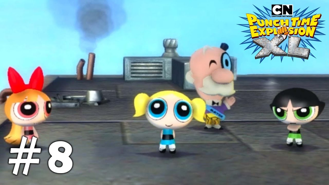 Cartoon Network Punch Time Explosion Xl Xbox 360 Ps3 Gameplay