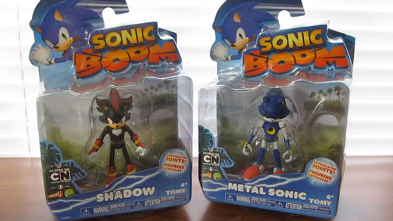 Shadow Metal Sonic Tomy Sonic Boom Wave 4 3 Action Figures Review Youtube