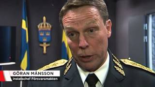 JAS-plan markerade mot ryska flygplan - Nyheterna (TV4)