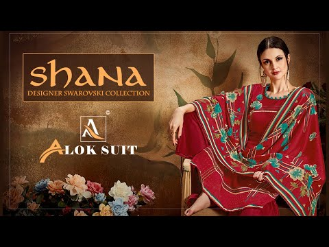 SHANA Designer Suits || Alok Suit || Salwar Kamzeez || Salwar Suit Designs