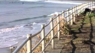 湘南海辺百選ー鎌倉和賀江島、材木座海岸はサーフィンとロングビーチ