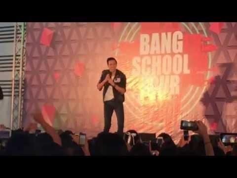 060715 (FANCAM) ปอ - ติ่ง Bang School Tour โรงเรียนอ้อมน้อยโสภณชนูปถัมภ์