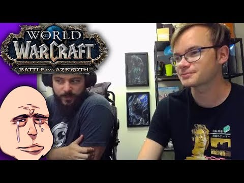 [Criken] World of Warcraft : baby warlock tries his first WoW Uldir raid ever