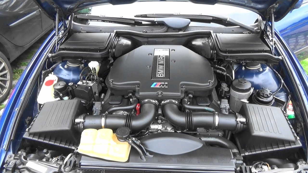 bmw m5 e39 engine cleaning stuttgart youtube. Black Bedroom Furniture Sets. Home Design Ideas