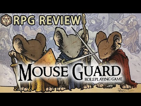 Be A Heroic And Valiant Rodent In Mouse Guard! 🐭 RPG Review & Mechanics
