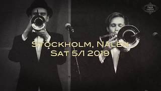 Frank Martini's Party of the Century is coming to Stockholm and Nal...