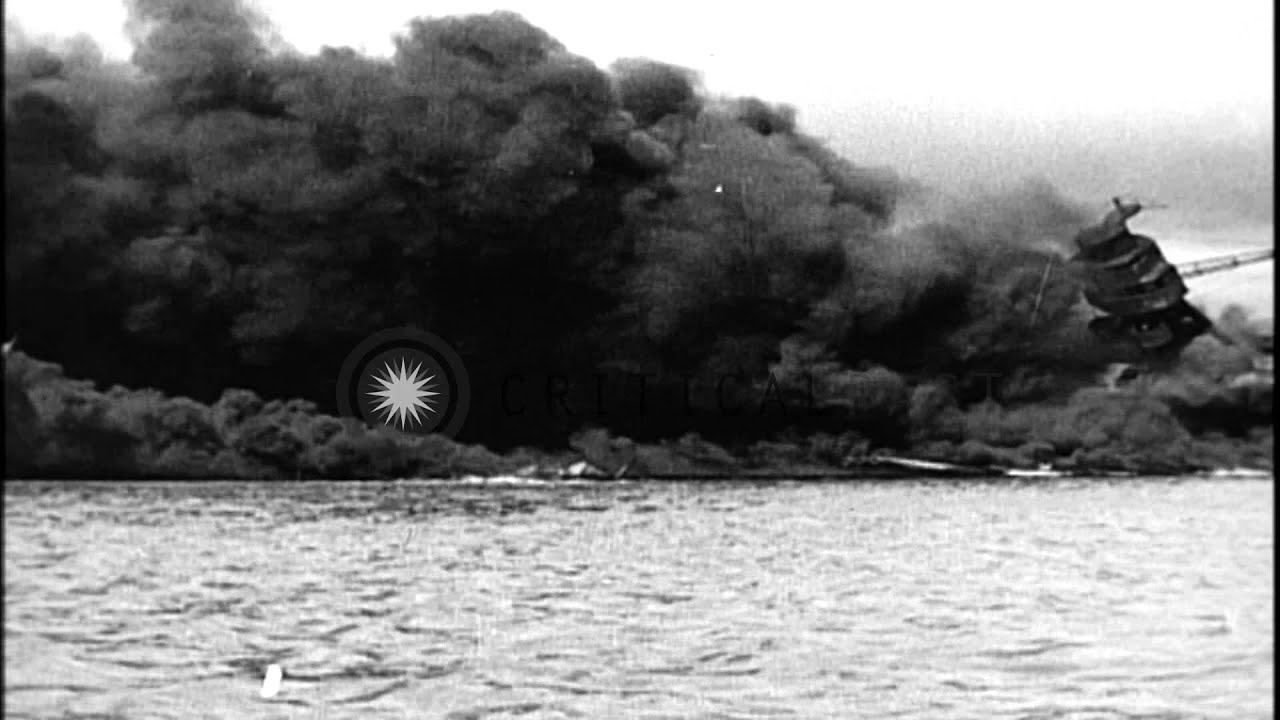 Pictures of the Japanese Attack on Pearl Harbor