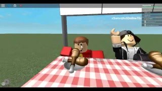 I WIN IN THE CHICKEN EATING CONTEST!!!!! #NormalElevator #Roblox
