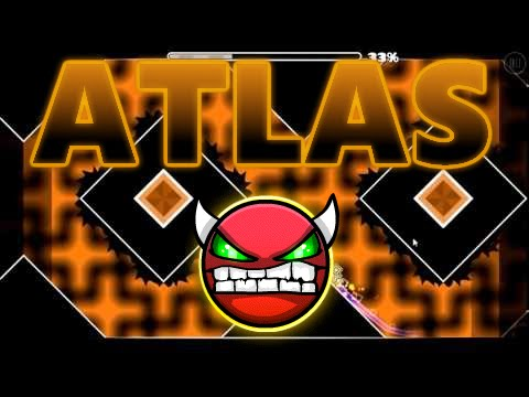Geometry Dash - Atlas (Demon) - by FunnyGame