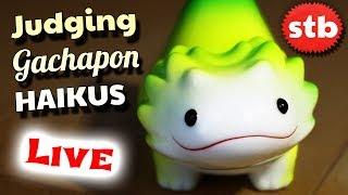 LIVE: Gachapon Haiku Giveaway RESULTS!