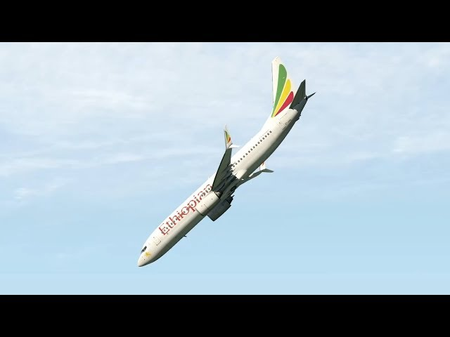 Ethiopian Airlines Flight ET302 - Crash Animation [X-Plane 11]