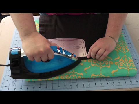 TUTORIAL - Save $$ by shortening store bought curtains