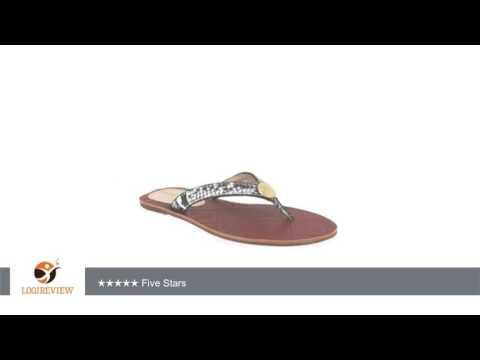 Tommy Bahama Women's Havana Snake Print Leather Sandal | Review/Test