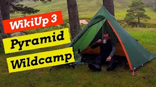 Wildcamping & Hillwalking - Derry Cairngorm, 'WickiUp 3' First Camp & US Ration Pack