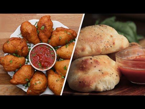 How To Make Crispy & Cheesy Calzones