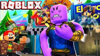 THANOS TROLLING RANDOM ROBLOX PLAYERS (Avec Admin Commands)