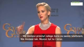 Dziennikarz wyśmiany przez Jennifer Lawrence