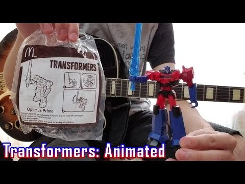 """Transformers: Animated"" Theme Song (Guitar Cover)"